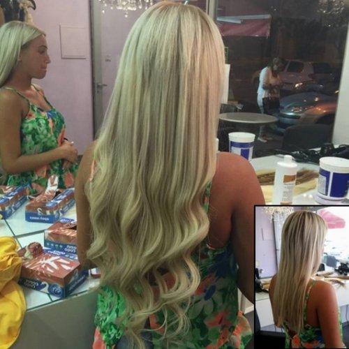 הארכת שיער טבעי